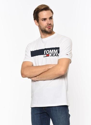 Tommy Hilfiger Tişört Beyaz